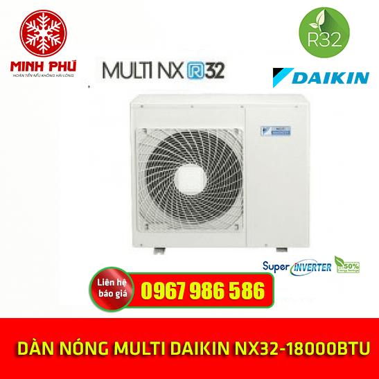 ĐIỀU HÒA MULTI DAIKIN 1 CHIỀU 3MKM52RVMV- Inverter